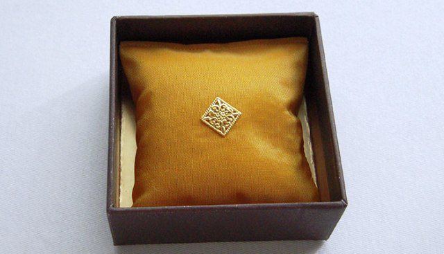 Cushion square with perfume